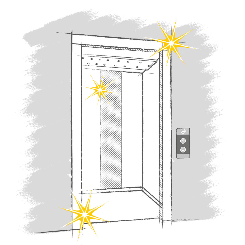Rehabilitación de ascensores historicos