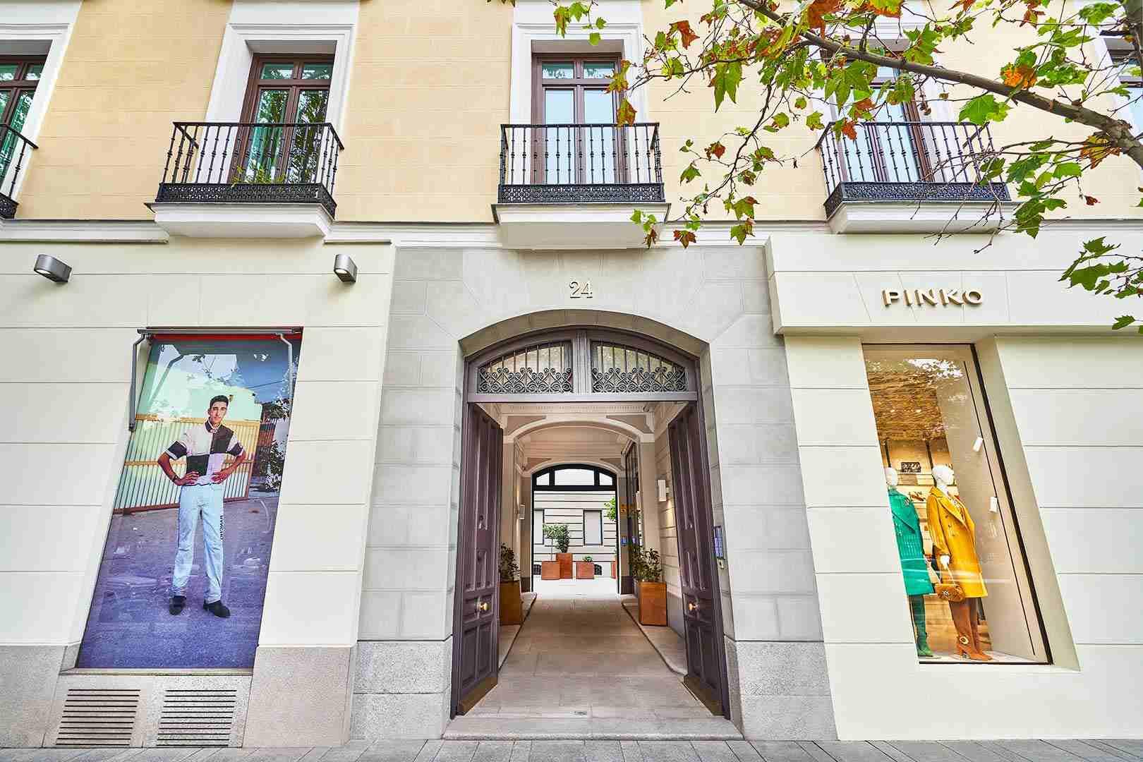 Imagen fachada Serrano 24 Madrid